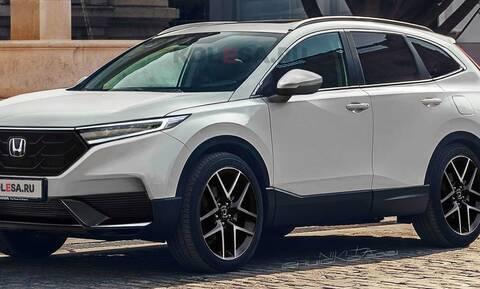 Έτσι θα είναι το επόμενο Honda CR-V;