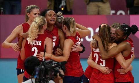 Ολυμπιακοί Αγώνες: Χρυσό μετάλλιο για τις ΗΠΑ! Το απίστευτο επίτευγμα του Κιράλι (vids)