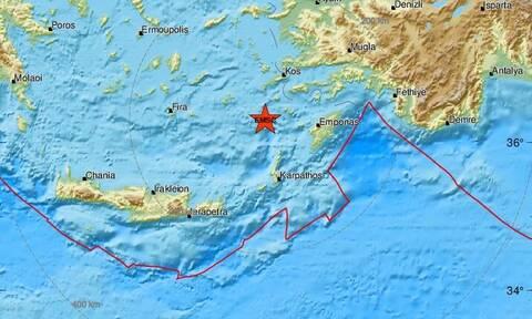 Σεισμός κοντά σε Νίσυρο και Τήλο (pics)