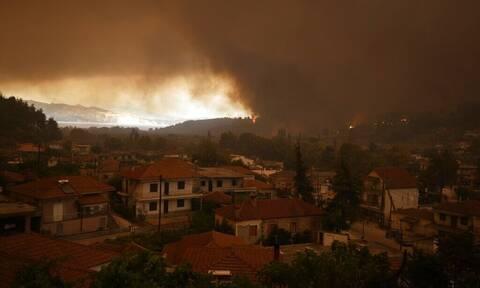 Φωτιά στην Εύβοια: Τα μέτωπα κυκλώνουν τα χωριά - Ξημερώνει έβδομη μέρα κόλασης