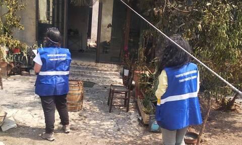 Φωτιά ΤΩΡΑ: Ξεκίνησε από το υπουργείο Υποδομών η καταγραφή των ζημιών