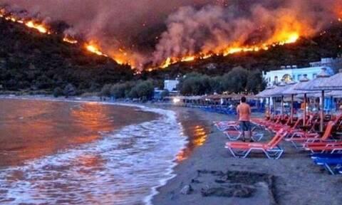 В Греции до 13 августа запрещены прогулки в лесу, парках и рощах