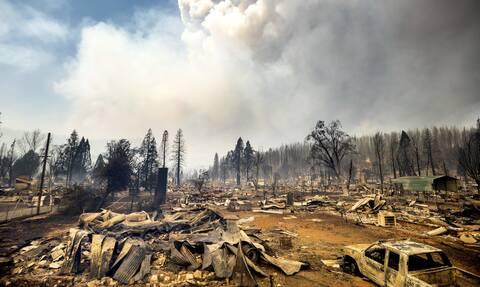 H καταστροφική πυρκαγιά Dixie στην Καλιφόρνια