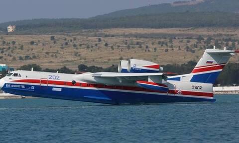 Греция направила России заявку на получение еще одного противопожарного самолета Бериев-200
