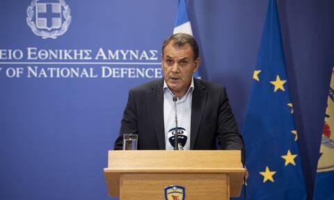 Παναγιωτόπουλος: Στην πρώτη γραμμή οι Ένοπλες Δυνάμεις - Δεν ισχύει καμία παραίτηση