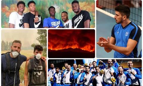 Φωτιές: Οι Έλληνες αθλητές στηρίζουν έμπρακτα τους πυρόπληκτους (video)