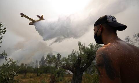 Φωτιά στην Εύβοια: Εφιάλτης οι αναζωπυρώσεις – Πύρινος κλοιός για όγδοη ημέρα