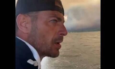 Γιώργος Αγγελόπουλος: Δεν πήγα στις φωτιές για να προμοτάρω τη δουλειά μου