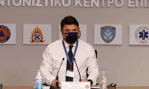 Χαρδαλιάς: Στην Εύβοια το πέπλο καπνού δεν έδινε δίοδο στα εναέρια - 6 μποφόρ στην αρχή της Αττικής