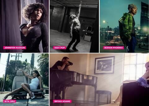 Hμερολόγιο Pirelli 2022: Αστέρες της μουσικής ποζάρουν στο φακό του Μπράιαν Άνταμς