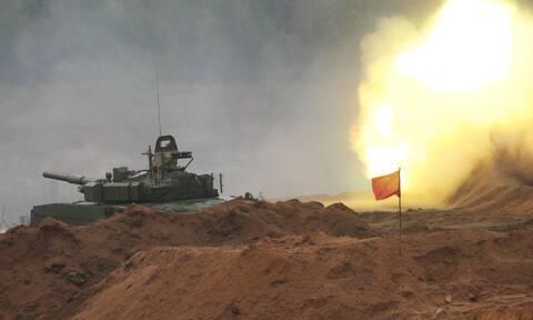 Μεγάλες κοινές στρατιωτικές ασκήσεις Ρωσίας- Κίνας