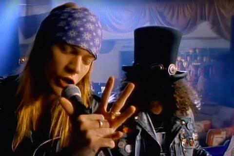 Guns N' Roses: Ακόμα ένα μοναδικό ρεκόρ για το εμβληματικό «Sweet Child O'Mine»