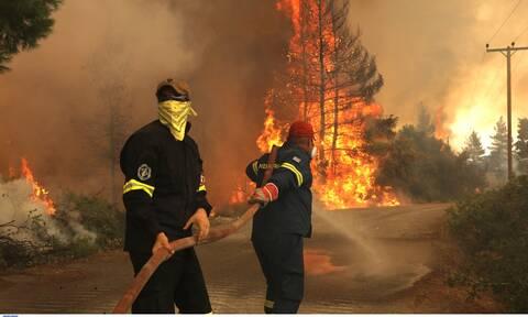 Φωτιά Γορτυνία: Ανεξέλεγκτο το μέτωπο - Εκκενώθηκαν χωριά, ανησυχία για τις συνεχείς αναζωπυρώσεις