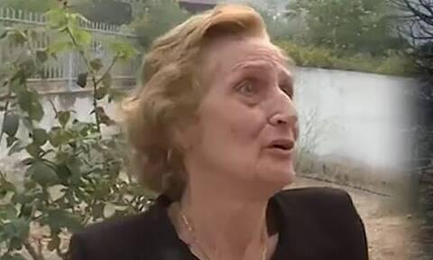 Εύβοια: Η κυρία Παναγιώτα για τη φωτογραφία της που έγινε viral –«Φώναζα γιατί δεν ήξερα τι να κάνω»