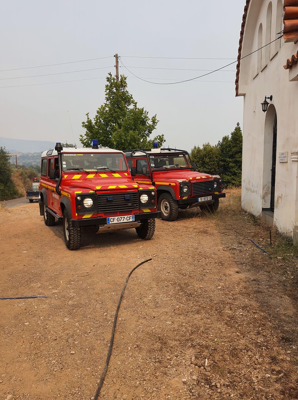 Πυροσβέστες στη Γορτυνία