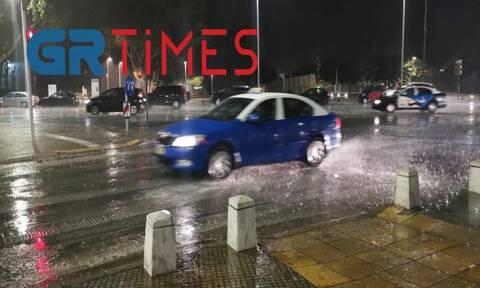 Βροχή Θεσσαλονίκη 11 Αυγούστου