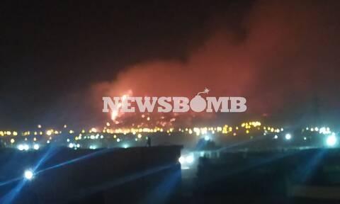 Φωτιά στον Ασπρόπυργο: Οριοθετήθηκε το μέτωπο που ξέσπασε μέσα στη νύχτα - Σβήνουν «καντηλάκια»