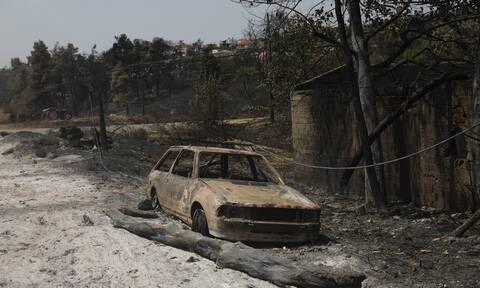 Φωτιά Εύβοια κάτοικοι