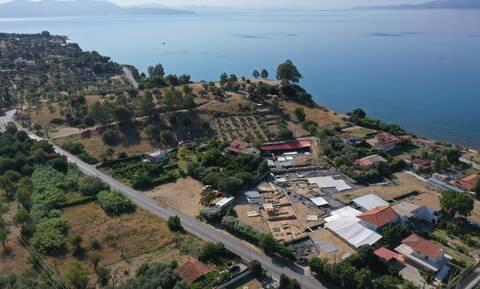 Εύβοια: Εντυπωσιακά ευρήματα στις Ελληνο-ελβετικές ανασκαφές στην Αμάρυνθο
