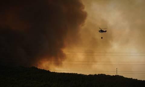 Καύσωνας και πυρκαγιές στην Ισπανία