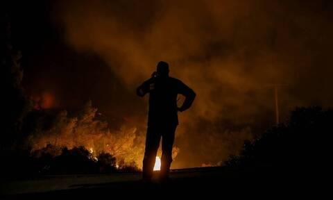 Φωτιά στη Λακωνία: Ολονύχτιες μάχες για να σβήσουν τα μέτωπα στην Ανατολική Μάνη