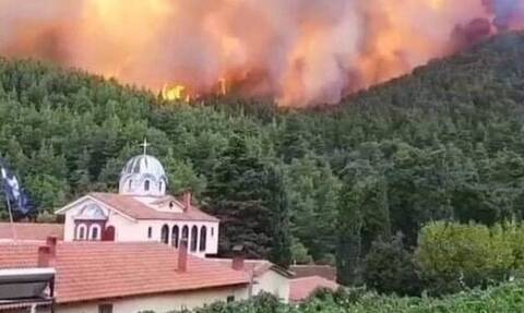 «Ο Θεός έβαλε το χέρι του»! Οι εκκλησίες και οι μονές που σώθηκαν από την πύρινη λαίλαπα