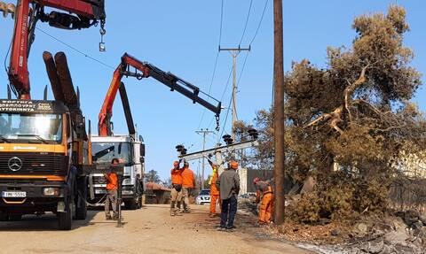 ΔΕΔΔΗΕ: Στη Γορτυνία τα τελευταία προβλήματα ηλεκτροδότησης – Πλήρης αποκατάσταση σε Εύβοια, Αττική