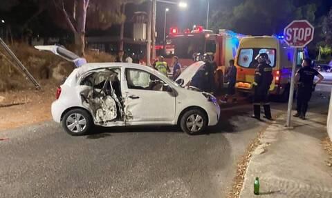 Τραγωδία στη Ρόδο: Ένας νεκρός και δύο σοβαρά τραυματίες σε φρικτό τροχαίο