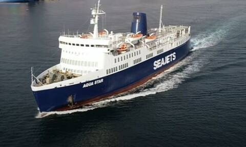 Μηχανική βλάβη στο Aqua Star, με 375 επιβάτες