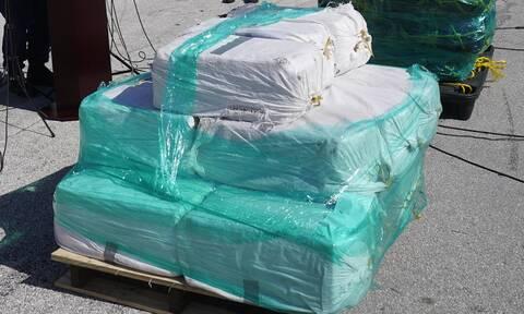 Ισημερινός: Κατάσχεση 9,6 τόνων κοκαΐνης