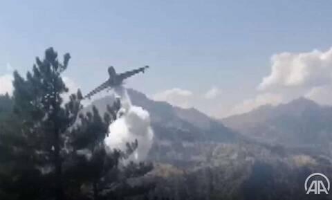Τουρκία - Συντριβή πυροσβεστικού αεροσκάφους: Νεκροί και οι οκτώ επιβαίνοντες