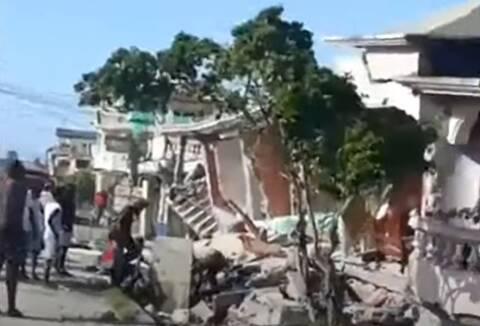 Αϊτή σεισμός προειδοποίηση τσουνάμι