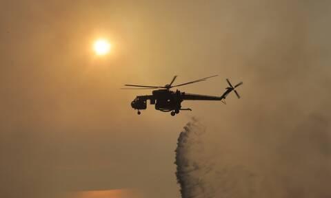 Φωτιά ΤΩΡΑ στην περιοχή Σιναράδων στην Κέρκυρα
