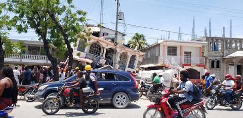 Σεισμός Αϊτή νεκροί αγνοούμενοι