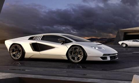 H θρυλική Lamborghini Countach επέστρεψε και είναι εντυπωσιακή