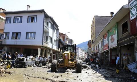 Στους 58 οι νεκροί από τις πλημμύρες στην Τουρκία
