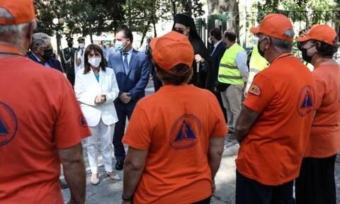 Σακελλαροπούλου: «H σημερινή γιορτή αποκτά ιδιαίτερο βάρος μέσα από την τραγωδία που ζήσαμε»