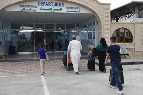 Καμπούλ αεροδρόμιο πυροβολισμοι Αφγανιστάν
