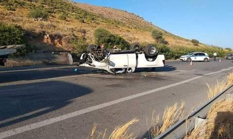 Τραγωδία στην Κρήτη: Νεκρός 44χρονος σε φρικτό τροχαίο
