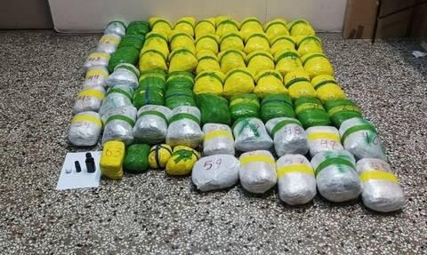 Καστοριά: Εγκληματική ομάδα διακινούσε 65 κιλά κάνναβη