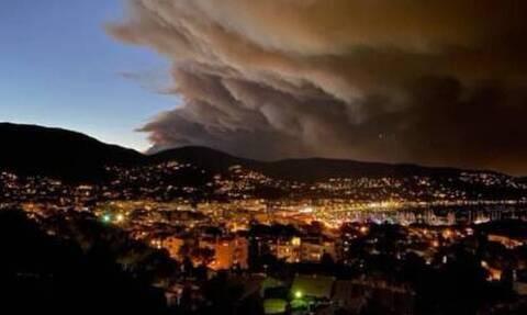 Γαλλία: Μεγάλη φωτιά στο Βάρ - Χιλιάδες άνθρωποι έχουν απομακρυνθεί από τα σπίτια τους