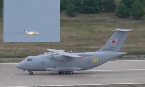 Συνετρίβη μεταγωγικό αεροσκάφος έξω από τη Μόσχα