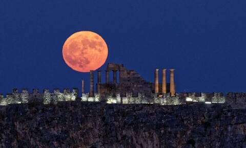 Πανσέληνος Αυγούστου 2021: Ελεύθερη είσοδος σε 120 αρχαιολογικούς χώρους και μουσεία