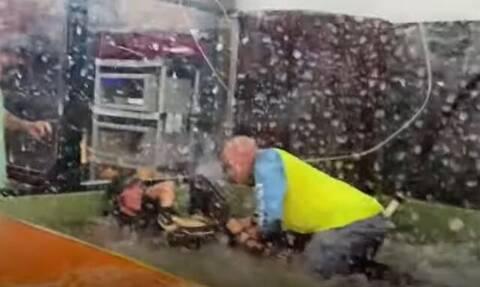 Αλιγάτορας επιτέθηκε σε γυναίκα μπροστά σε παιδιά στις ΗΠΑ – Η δραματική διάσωσή της