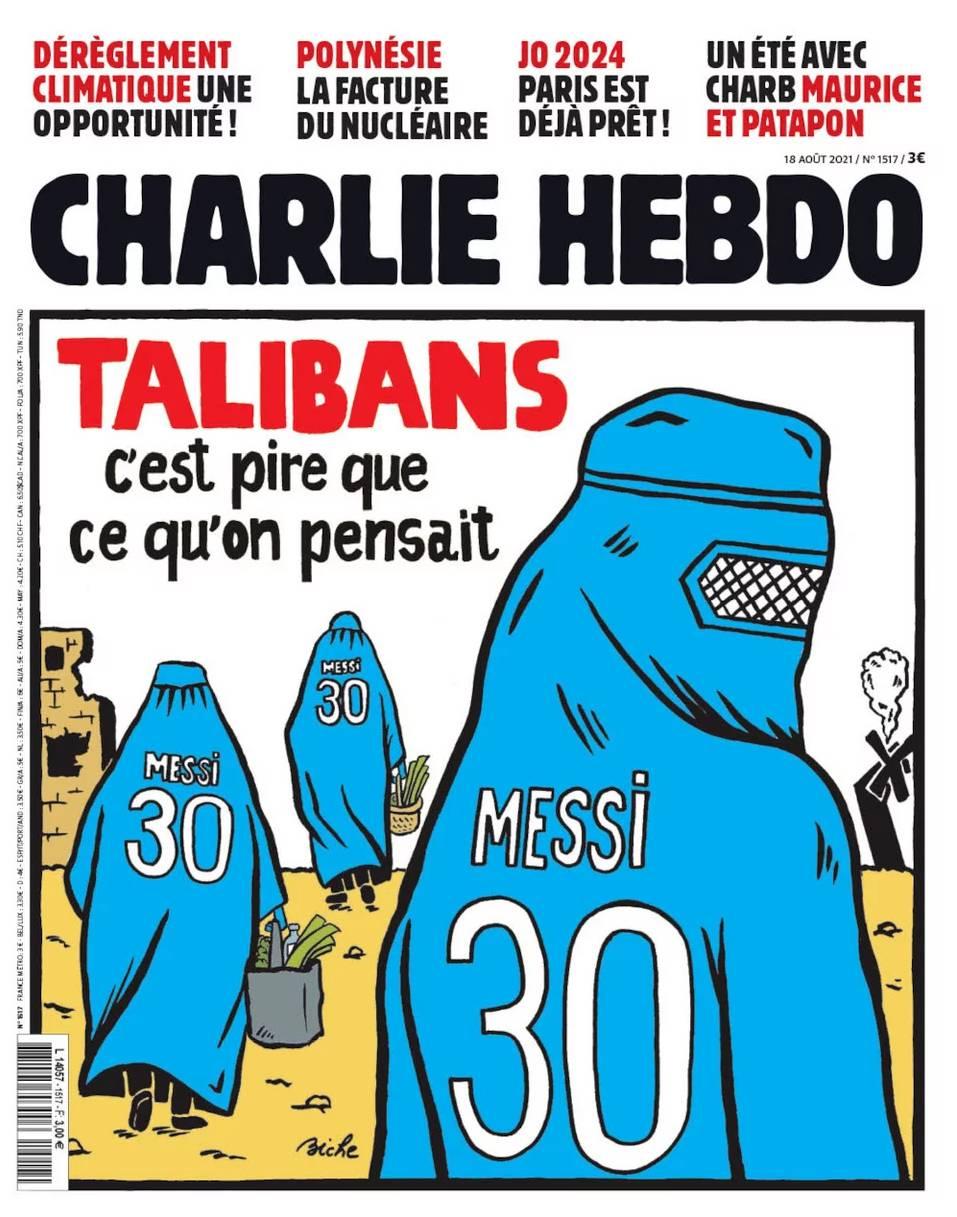 Charlie Hebdo Αφγανιστάν Μέσι