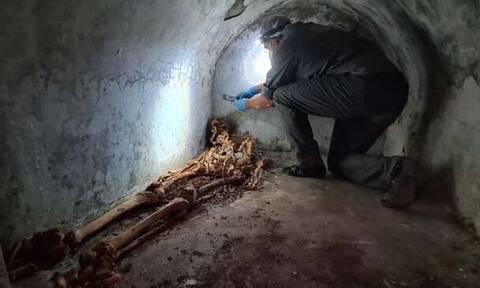Εντυπωσιακή ανακάλυψη στην Πομπηία: Βρήκαν «μούμια» με άσπρες τρίχες και ένα αυτί!