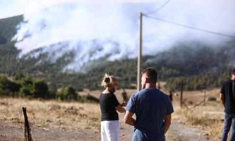 Φωτιά στα Βίλια: Έκτακτες κυκλοφοριακές ρυθμίσεις λόγω της πυρκαγιάς