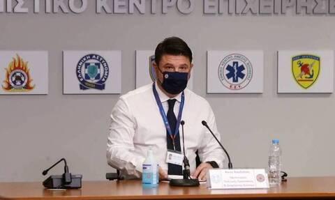 Ο υφυπουργός Πολιτικής Προστασίας, Νίκος χαρδιαλιάς πήρε εξιτήριο από το νοσοκομείο