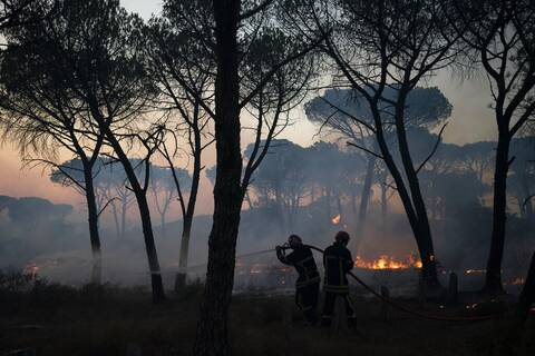 Γαλλία Ισπανία Πορτογαλία φωτιές μαζικές εκκενώσεις