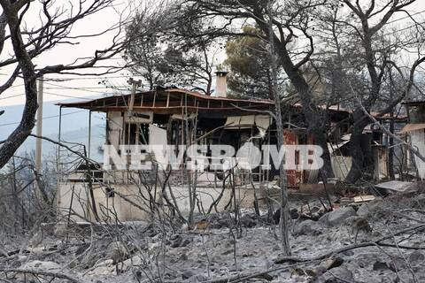Μαρτυρία κατοίκου των Βιλίων στο Newsbomb.gr: «Αφού την γλιτώσαμε... »